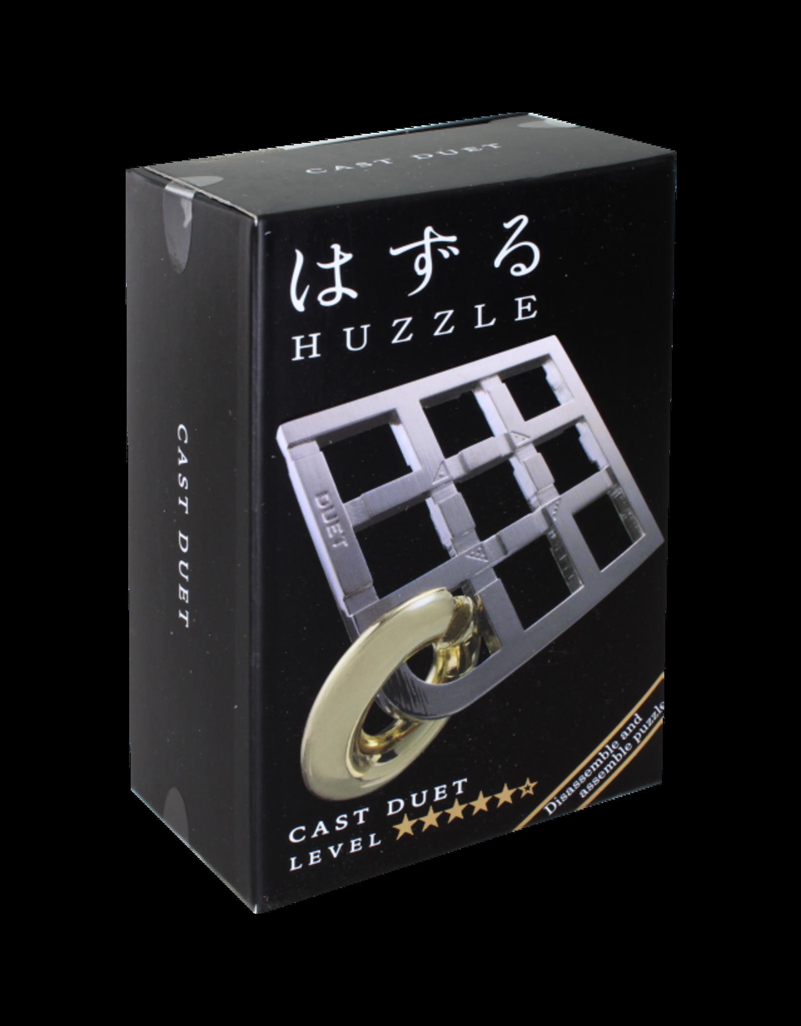 Hanayama DUET Hanayama Cast Metal Puzzle