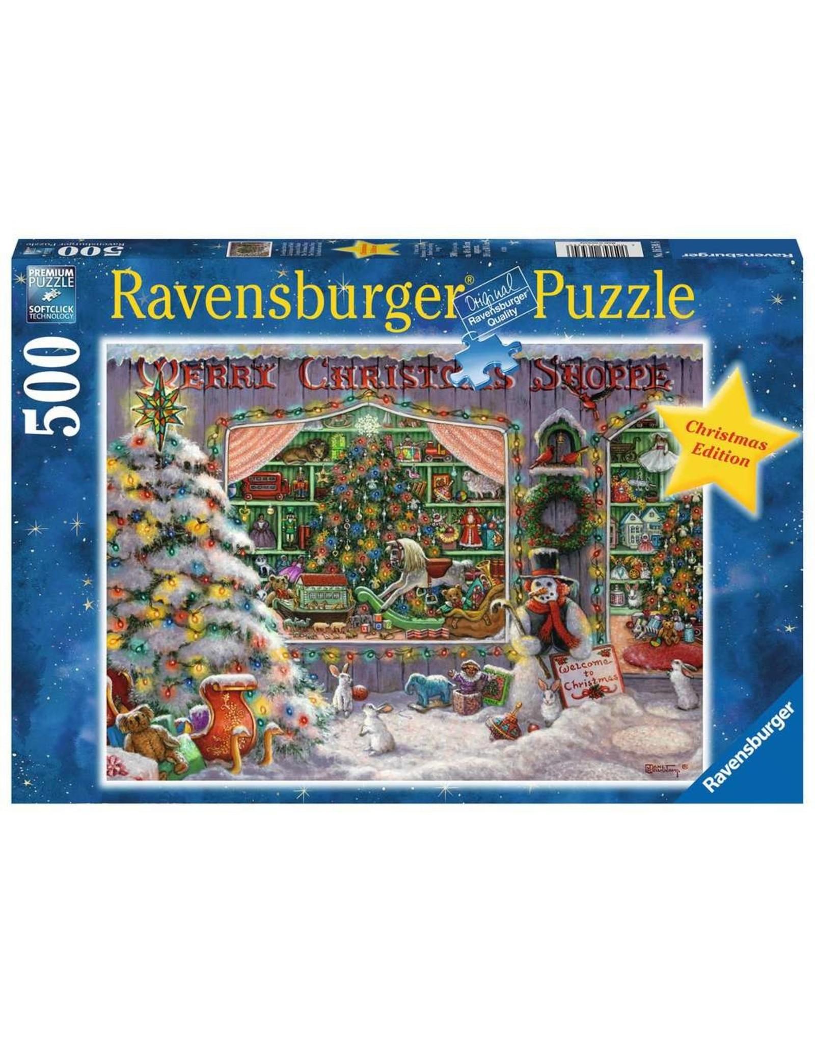 Ravensburger The Christmas Shop 500pc Puzzle