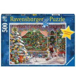 Ravensburger The Christmas Shop 500pc Puzzle