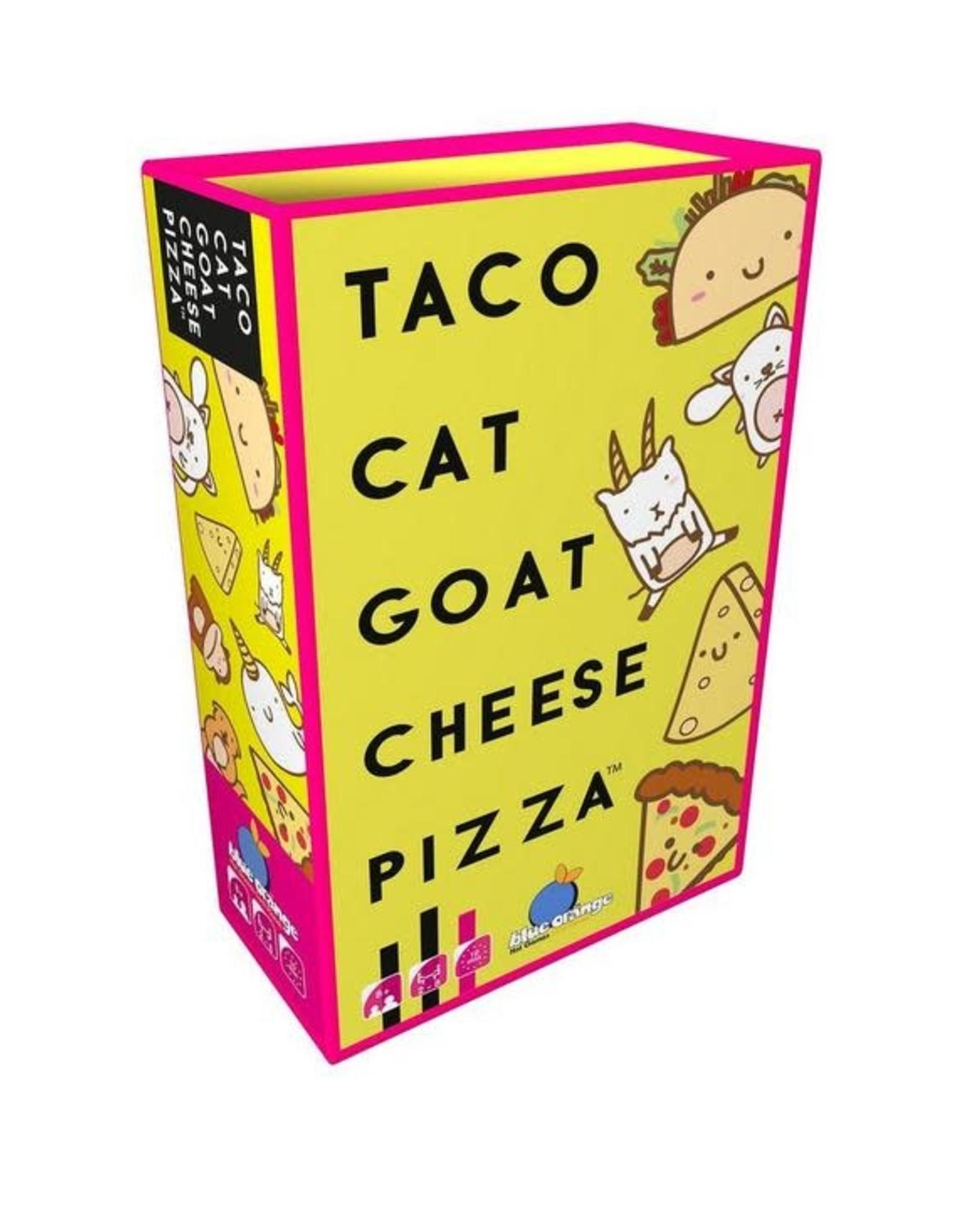 Blue Orange Taco Cat Goat Cheese Pizza