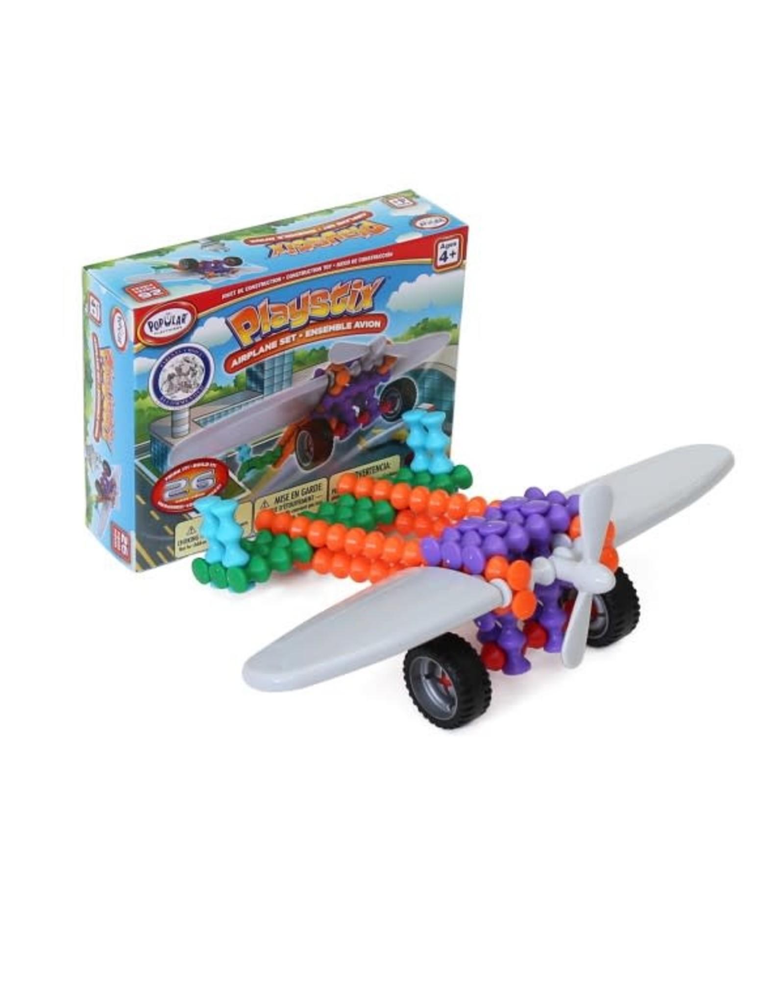 Popular Playthings Playstix Airplane Set