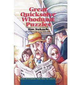 Sterling Great Quicksolve Whodunit Puzzles
