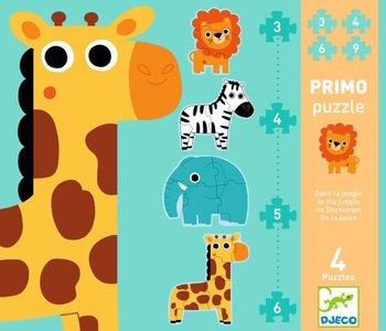 Primo Puzzle: In The Jungle 3, 4, 5 & 6 pc