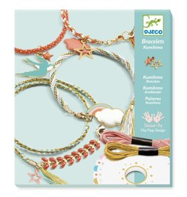 Djeco Celeste Kumihimo Bracelets Kit