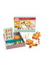 Djeco Oscar & Cannelle Gingerbread Cookie Play Set