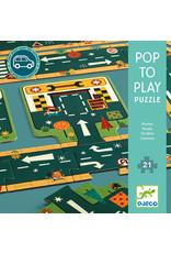 Djeco Pop to Play Roads