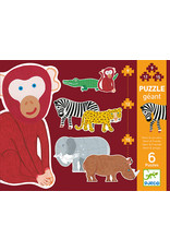 Djeco Henri & Friends 9, 12 & 15pc Puzzle