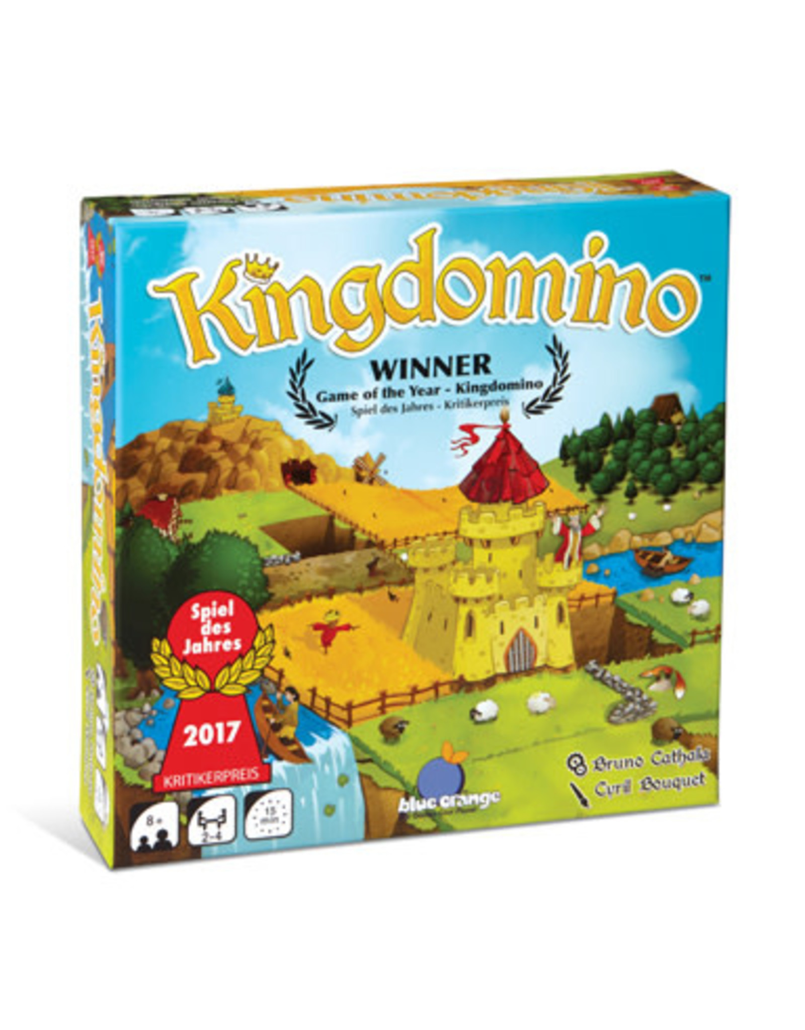 Blue Orange Kingdomino Game