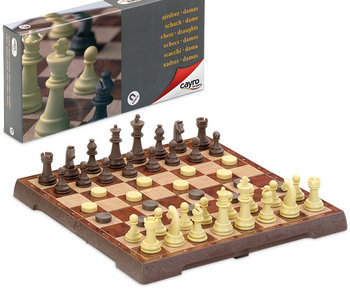 Magnetic Chess & Draught Set medium