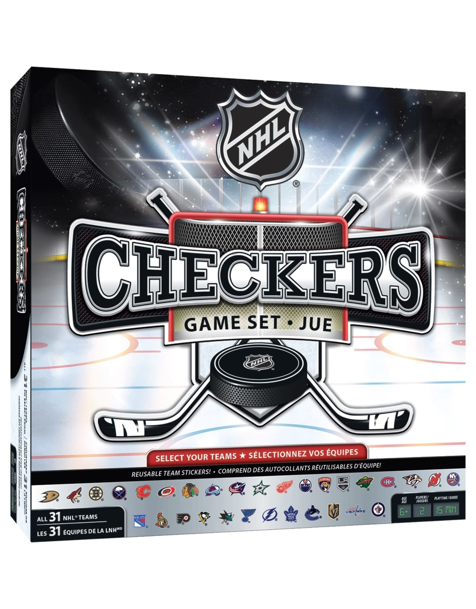 NHL Checkers Game