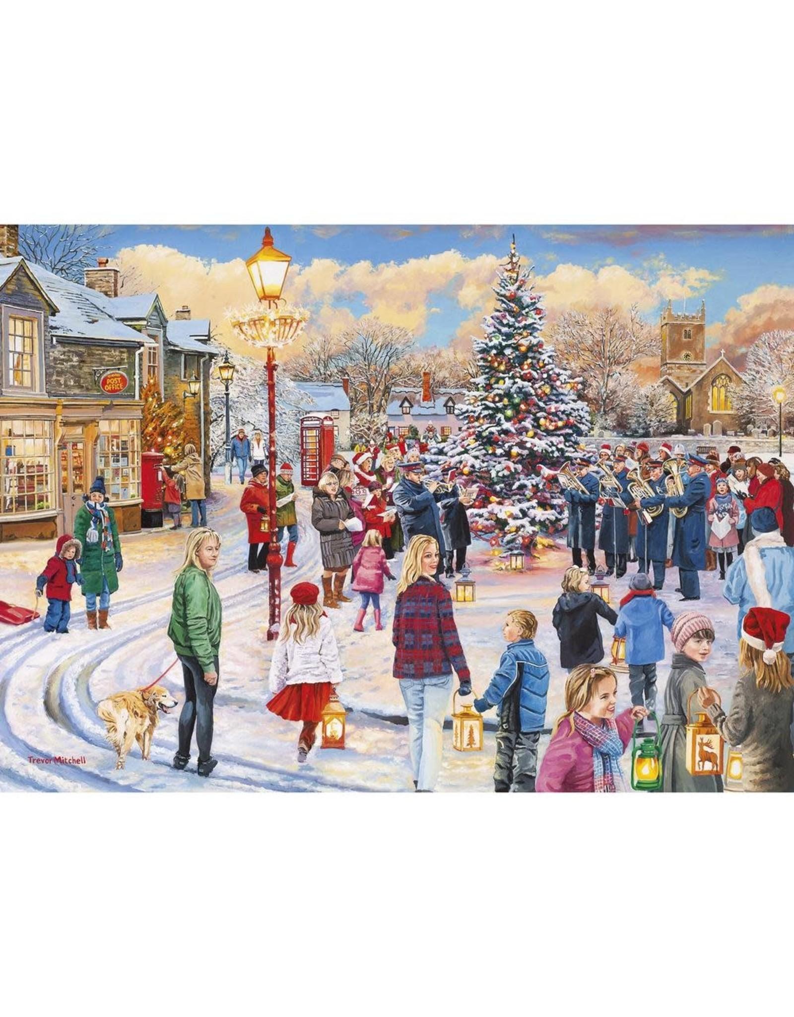 GIBSONS Christmas Chorus 1000 pc puzzle