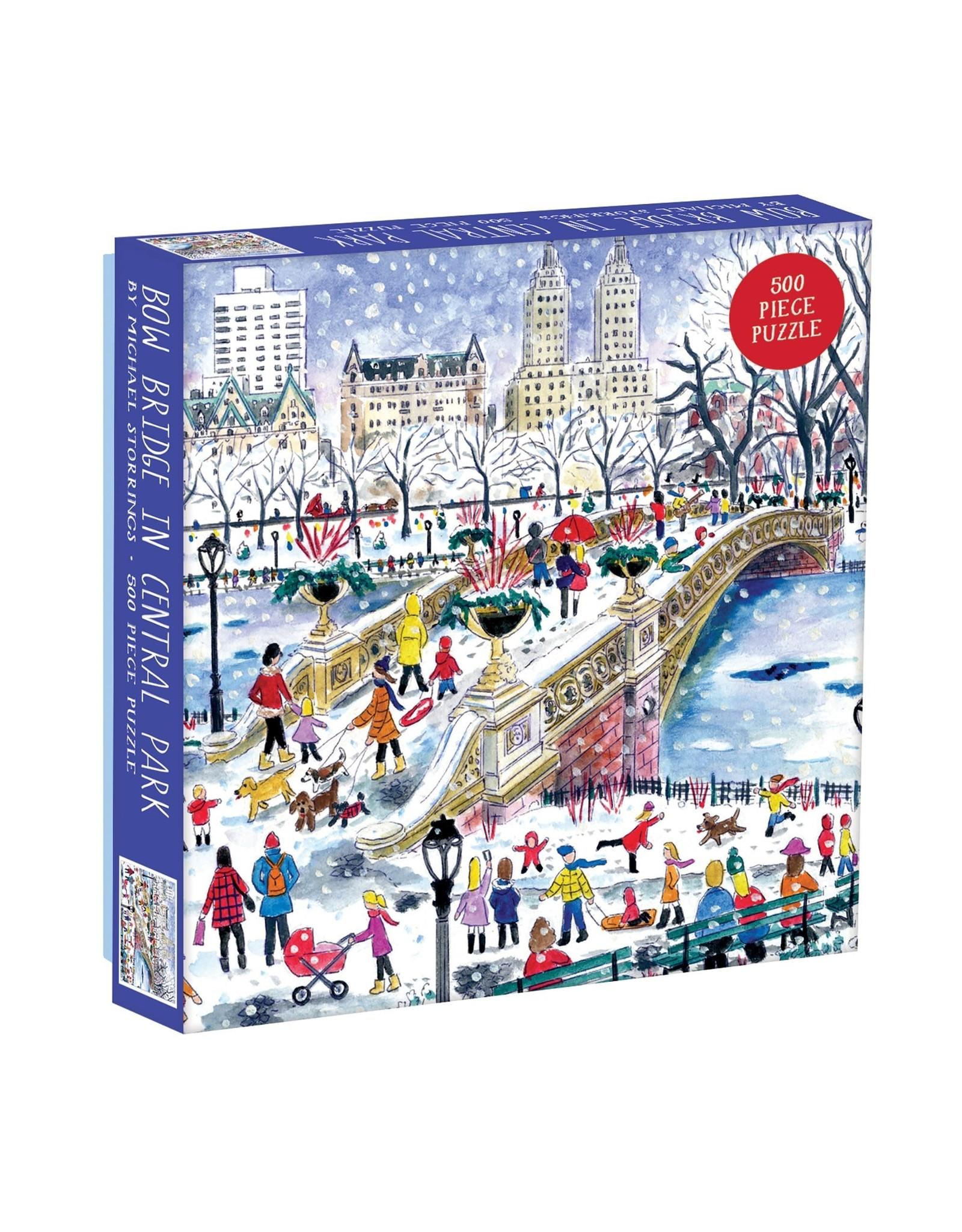 Galison Bow Bridge in Central Park 500pc Puzzle