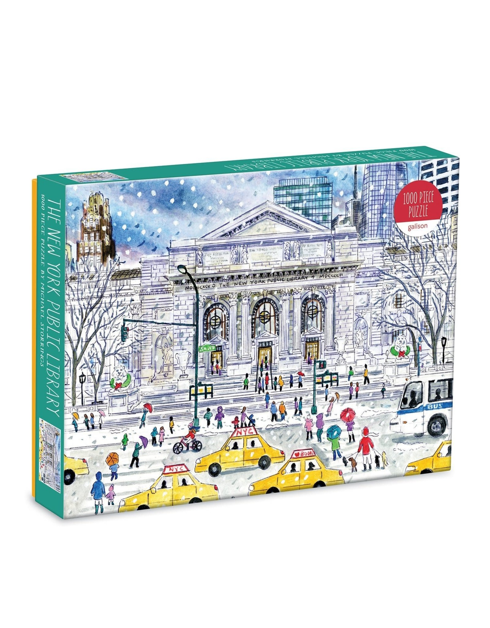 Galison New York Public Library 1000pc Puzzle