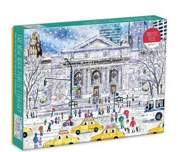 New York Public Library 1000pc Puzzle
