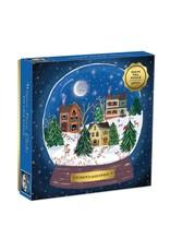Galison Winter Snow Globe 500pc Puzzle
