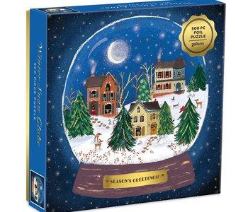 Winter Snow Globe 500pc Puzzle