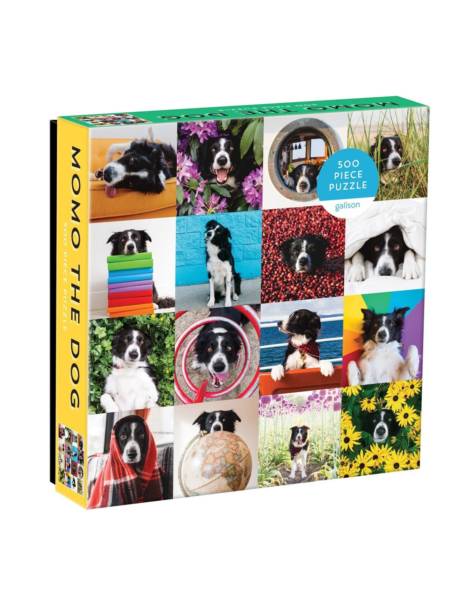 Galison Momo The Dog 500pc Puzzle