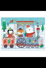 Mudpuppy Christmas Train 36pc Puzzle