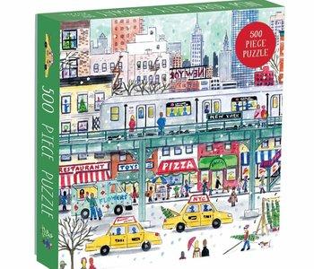 NYC Subway 500pc Puzzle