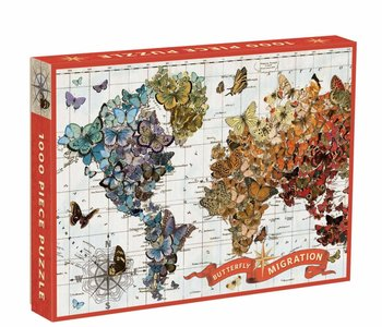 Butterfly Migration 1000pc Puzzle