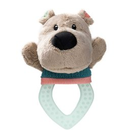 Lilliputiens Cesar Teething Rattle