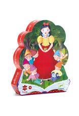 Djeco Snow White 50pc Silhouette Puzzle