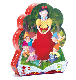 Djeco Snow White 50pc Silhouette Puzzle