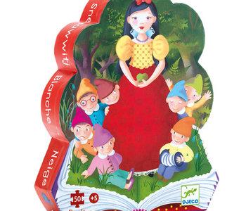 Snow White 50pc Silhouette Puzzle