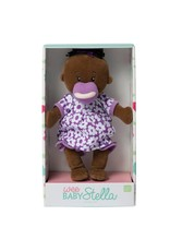 Manhattan Toy Wee Baby Stella w Purple Outfit