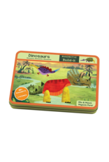 Mudpuppy Dinosaurs Magnetic Tin