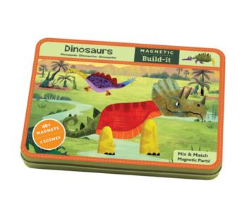 Dinosaurs Magnetic Tin