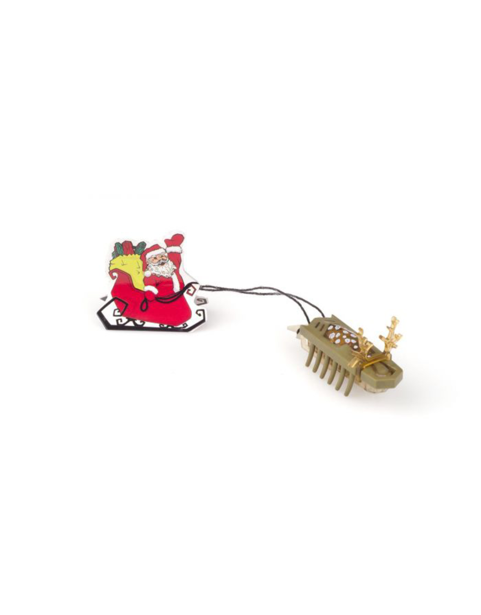 Hexbug HEXBUG Nano Reindeer pulling Santa in Sleigh