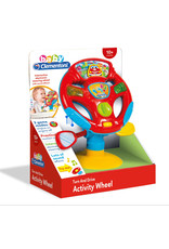 Clementoni Turn & Drive Activity Wheel