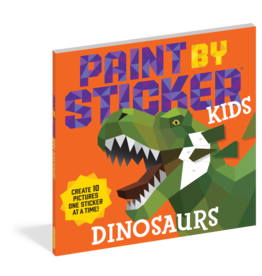 Workman Paint by Sticker Kids: Dinosaurs