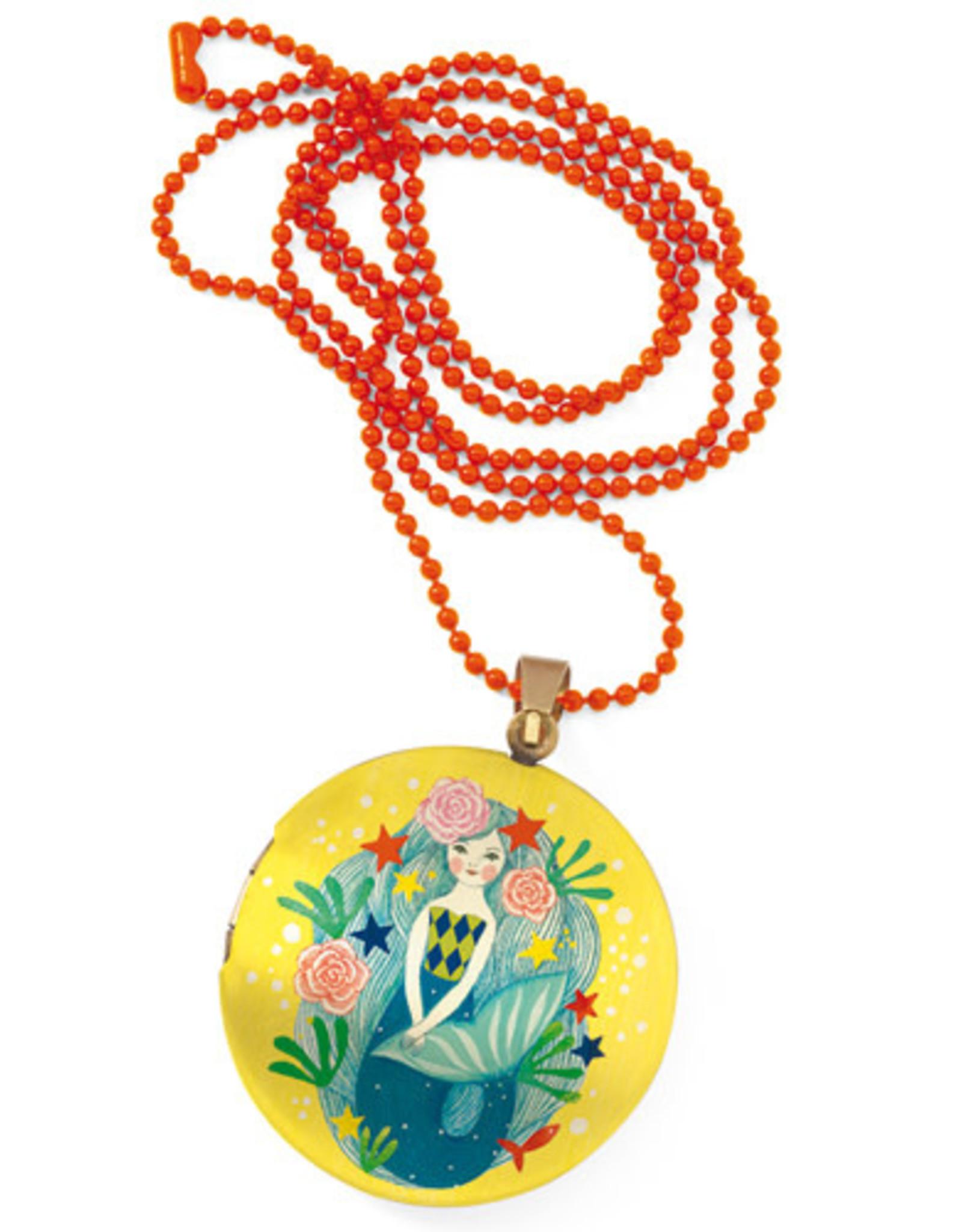 Djeco Mermaid Locket Necklace