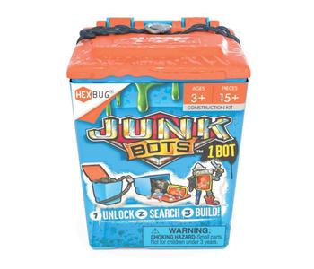 HEXBUGS Junkbots Trash Bin