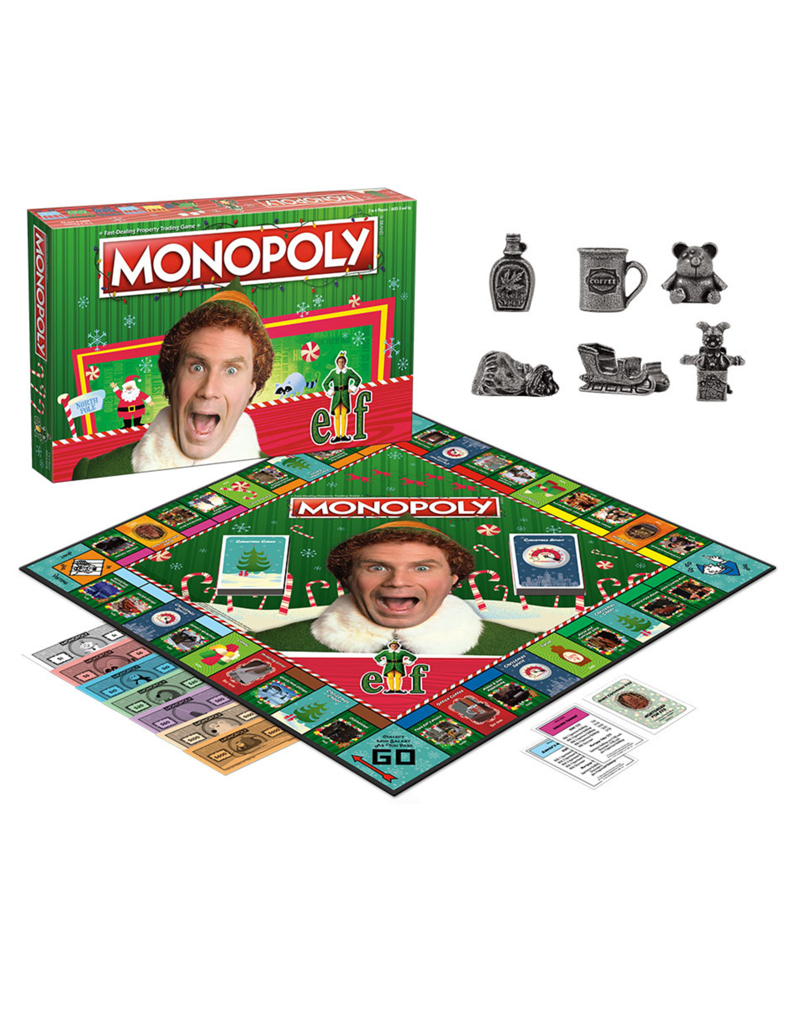USAopoly Elf Monopoly