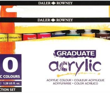 Graduate Acrylic Intro Set 10x38ml