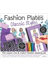 Kahootz Fashion Plates Deluxe Kit