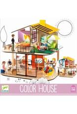 Djeco Djeco Color Dollhouse