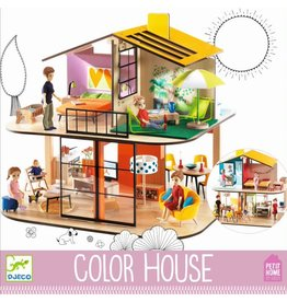 Djeco Djeco Color Dollhouse