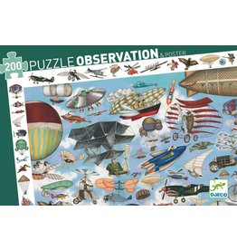 Djeco Aero Club 200pc Observation Puzzle