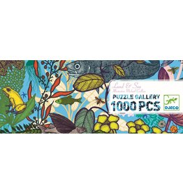 Djeco Land & Sea 1000pc Puzzle
