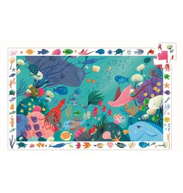 Djeco Aquatic 54pc Observation Puzzle