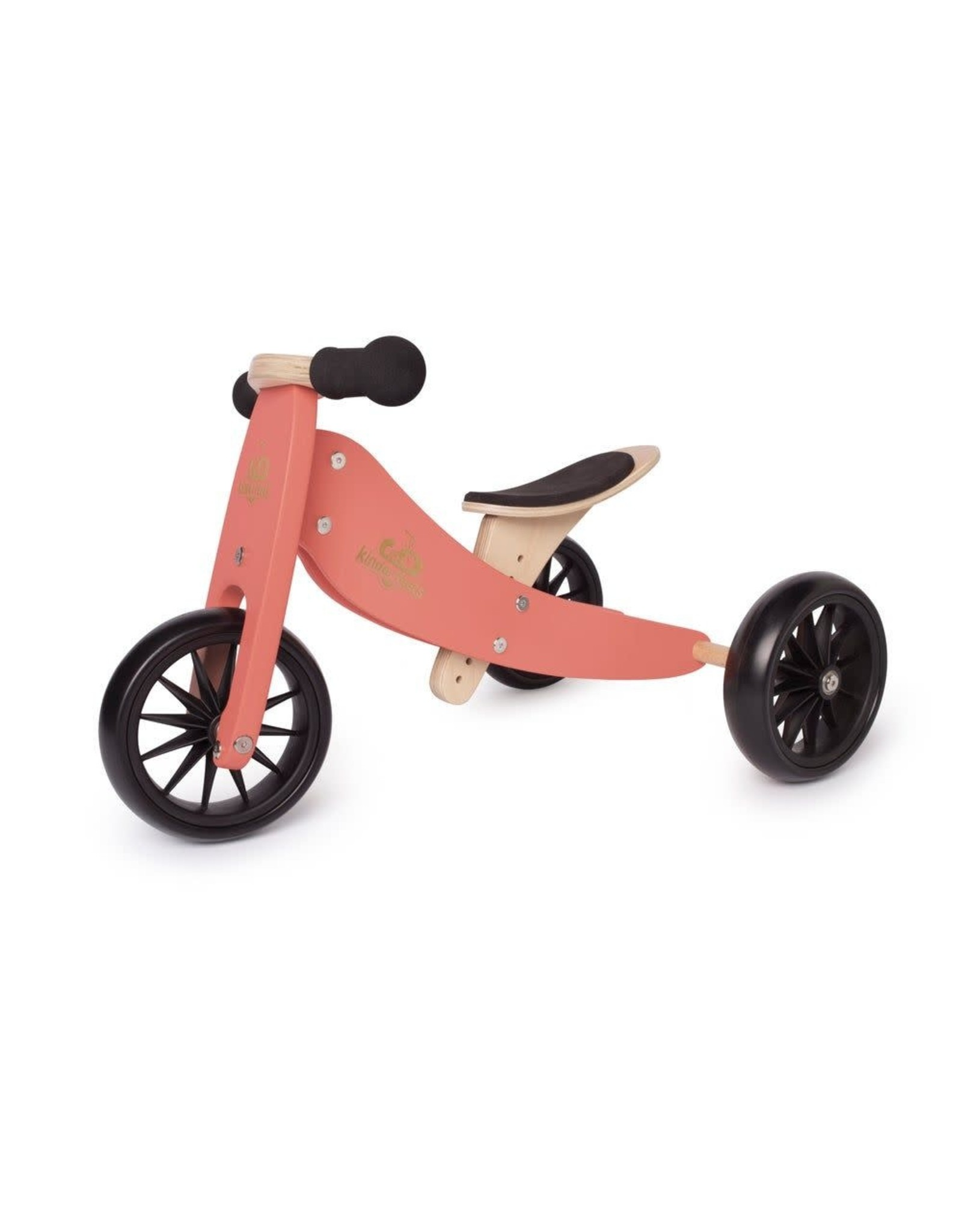Kinderfeets Kinderfeets Tiny Tot Balance Bike coral