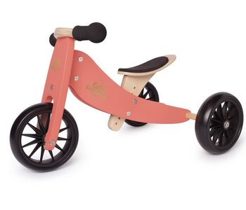 Kinderfeets Tiny Tot Balance Bike coral