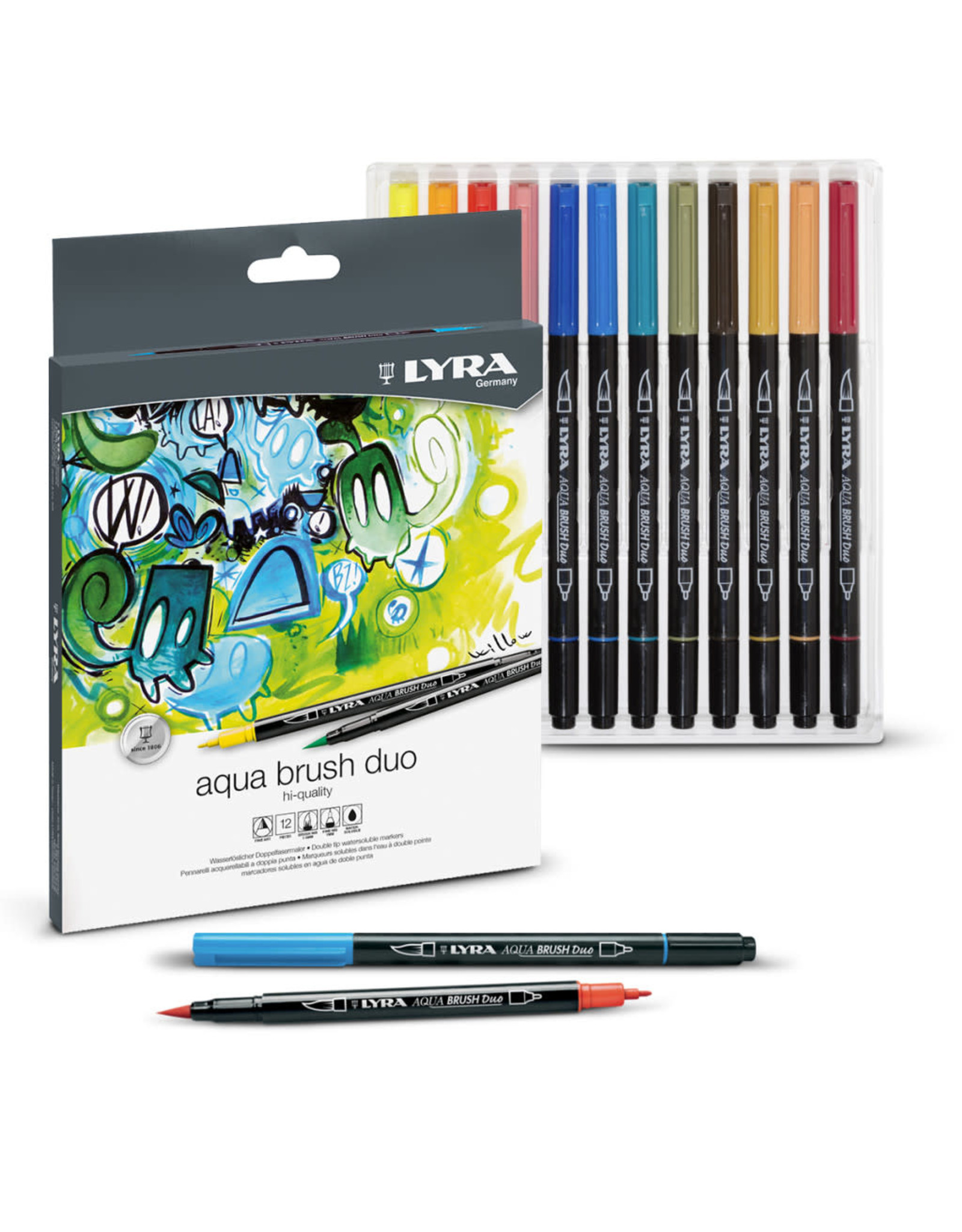 LYRA Lyra Aqua Brush Duo 24pc