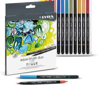 Lyra Aqua Brush Duo 24pc