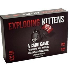 Exploding Kittens Exploding Kittens NSFW Deck (adults only)