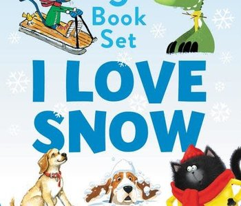 I Love Snow I Can Read Boxed Set